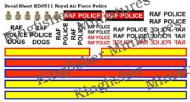 Royal Air Force Police Markings